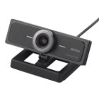 200万画素WEBカメラ 広角120°マイク内蔵 ブラック