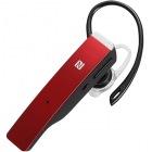 Bluetooth4.1対応 2マイクヘッドセット メタルアンテナ搭載&NFC対応モデル レッド