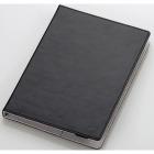 タブレット汎用ブックタイプケース/レザー/7.0〜8.4インチ/ブラック
