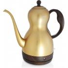 電気ケトル ステンレス コーヒー ドリップ ポット 細口 1.0L (ゴールド)    ケトル ケットル コーヒー おしゃれ キッチン ゴールド