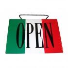 オープン・クローズプレート イタリア OC-2