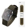 Apple Watch 44/42mm/ファブリックバンド/カーキ