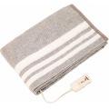 電気毛布 掛敷毛布 電磁波カット 丸洗い可 188×130cm