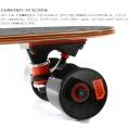 ミニクルーザースケートボード ( ブラック ) 写真10