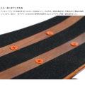 ミニクルーザースケートボード ( ブラウン ) 写真10