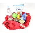 コンパクトバッグ L レッド | エコバッグ 買い物 レジかご お出かけ サイドバッグ スーパー コンパクト 写真10