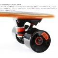 ミニクルーザースケートボード ( ブラウン ) 写真12