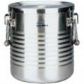 18-8真空断熱容器(シャトルドラム) 手付 JIK-W16