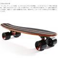ミニクルーザースケートボード ( ブラウン ) 写真15