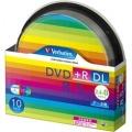Verbatim DTR85HP10SV1 データ用DVD+R DL 8.5GB 2.4-8倍速 スピンドルケース10枚P