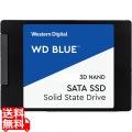 WD Blue 3D NANDシリーズ SSD 4TB SATA 6Gb/s 2.5インチ 7mm cased 国内正規代理店品