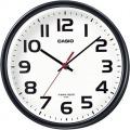 電波掛け時計アナログ ブラック IQ-800J-1JF