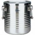18-8真空断熱容器(シャトルドラム) 手付 JIK-W18