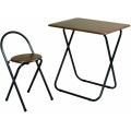 フォールディングテーブルセット | 折りたたみ 椅子セット 背付き 一人暮らし 一人用 新生活 コンパクト 会議 写真1