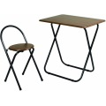 フォールディングテーブルセット   折りたたみ 椅子セット 背付き 一人暮らし 一人用 新生活 コンパクト 会議 写真1