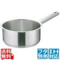 Murano(ムラノ)インダクション 18-8片手浅型鍋 (蓋無) 18cm