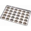 シリコン加工 イースターエッグ型 天板 30連 業務用
