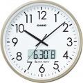 プログラム電波時計 日付/デュアルタイム表示機能付