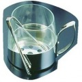 ガラス製 アイスペール(トング付) 9078