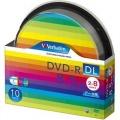 Verbatim DHR85HP10SV1 データ用DVD-R DL 8.5GB 2-8倍速 スピンドルケース入10枚P