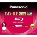 BD-REディスク50GB/2倍速/5枚パック LM-BE50DH5A