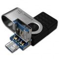 HIDISC 3in1USB TypeC/microUSB/USB3.1 64GB