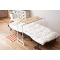 伸縮式ベッドテーブル ナチュラル 写真2