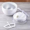 アイスクリームメーカー ホワイト   キッチン 貝印 アイスクリーム 簡単 正規品 kai レシピ付き 手作りアイス  写真2