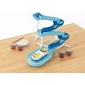 流麺スライダーそうめん流し器(ミントブルー) 写真2