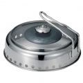 機能鍋 Dome Grill ( ドームグリル ) 炭火、コンロ ( ガス、カセット ) 専用 スキレット付き レシピ付き アウトドアクッキング 写真2