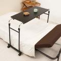 永井興産 ( NAGAIKOSAN ) 伸縮式 ベッド テーブル ブラック 写真3