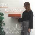 折りたたみ式収納スツール 38cm x 38cm x 高さ40cm ファブリック オレンジ 写真3