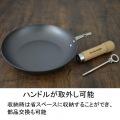 リバーライト 極 ジャパン たまご焼 特小 J1611 |  日本製 正規品 鉄 IH ガス さびづらい 玉子 タマゴ 写真3