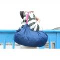 マーナ Shupatto ( シュパット ) コンパクトバッグ L ネイビー | エコバッグ 買い物  サイドバッグ スーパー コンパクト 写真3