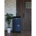 【ネビル】宅配ボックス 付き ポスト ブラック|完成品 簡単設置 写真3