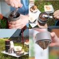 カフラーノ オールインワン コーヒーメーカー 250ml ブラック LC11-CK-BK | キャンプ アウトドア コーヒー 簡単 一体型 グランピング 写真3
