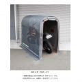 ストレージ バイクガレージ Lサイズ | バイク 大型 ガレージ 車庫 整備 メンテ メンテナンス ベンチレーション 工具不要 ペグ付き 写真4