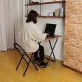 フォールディングテーブルセット TC-6050PV(BR) 写真4