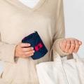マーナ Shupatto ( シュパット ) コンパクトバッグ L ネイビー | エコバッグ 買い物  サイドバッグ スーパー コンパクト 写真4