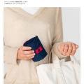 Shupatto ( シュパット ) コンパクトバッグ  L ドット | エコバッグ 買い物 レジかご お出かけ サイドバッグ スーパー コンパクト 写真4