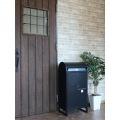 【ネビル】宅配ボックス 付き ポスト ブラック|完成品 簡単設置 写真4