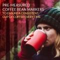 カフラーノ オールインワン コーヒーメーカー 250ml レッド 写真4