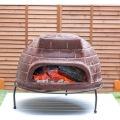 【ピザ・窯・オーブン・暖炉・バーベキュー】 メキシコ製 ピザ窯 チムニー 写真5