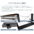 昇降式 パソコンデスク ブラック BHD-1200M  ( ゲーミングデスク  ) 高さ調節 幅120 奥行55   昇降式 オフィス 高さ調整 調整  写真5