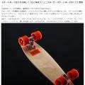 ミニクルーザースケートボード ( ナチュラル ) 写真5