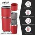 カフラーノ オールインワン コーヒーメーカー 250ml レッド 写真5