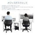 昇降式 パソコンデスク ( ゲーミングデスク  ) 高さ調節 幅120 奥行55   昇降式 オフィス 高さ調整 調整  写真6