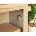 【ネビル】宅配ボックス 付き ポスト ブラック|完成品 簡単設置 写真6