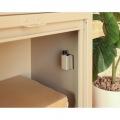 【ネビル】宅配ボックス 付き ポスト アイボリー|完成品 簡単設置 スタンドポスト 投函口 写真6