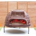 【ピザ・窯・オーブン・暖炉・バーベキュー】 メキシコ製 ピザ窯 チムニー 写真7
